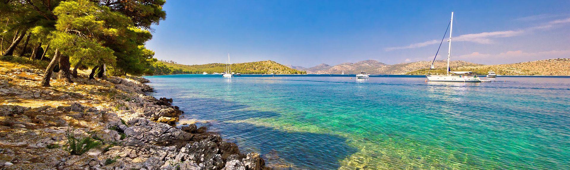 Île de Dugi Otok, Comitat de Zadar, Croatie