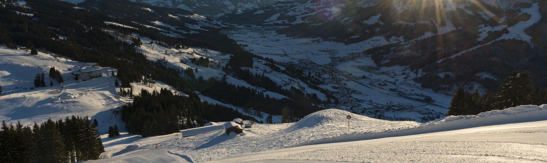 Wilder Kaiser-Brixentalin hiihtokeskus, Tiroli, Itävalta