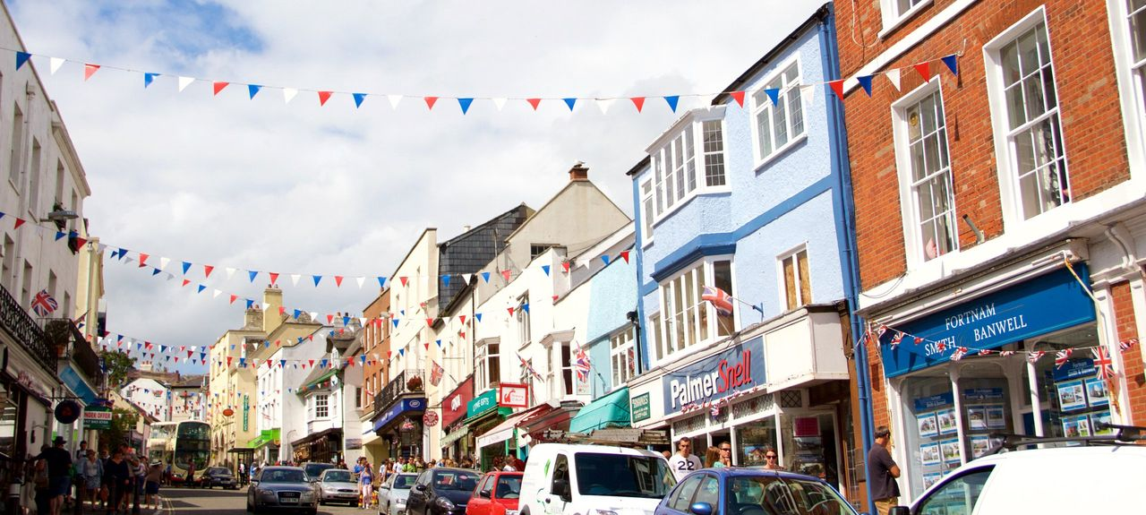 Charmouth, Angleterre, Royaume-Uni