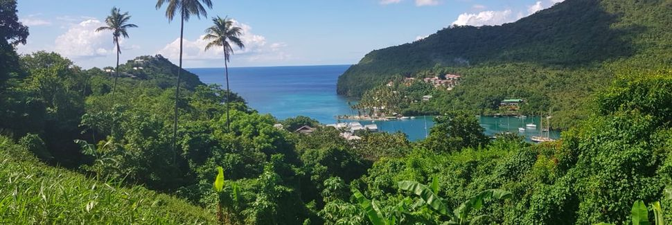Reduit strand, Gros Islet, St. Lucia