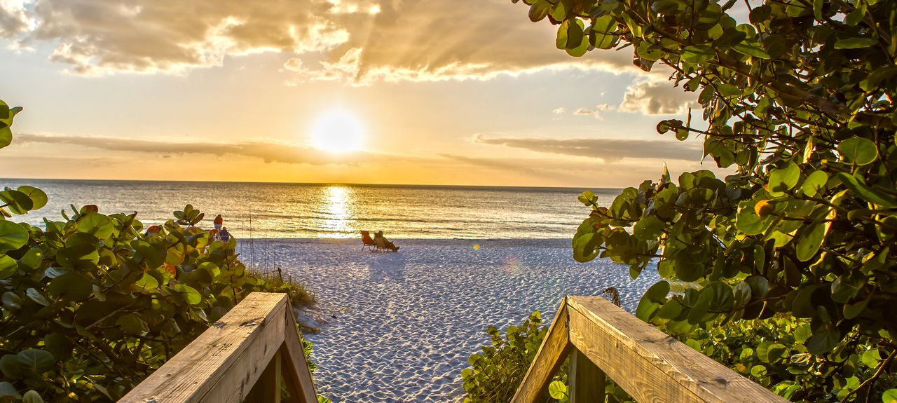 Naples Beach, Naples, FL, USA
