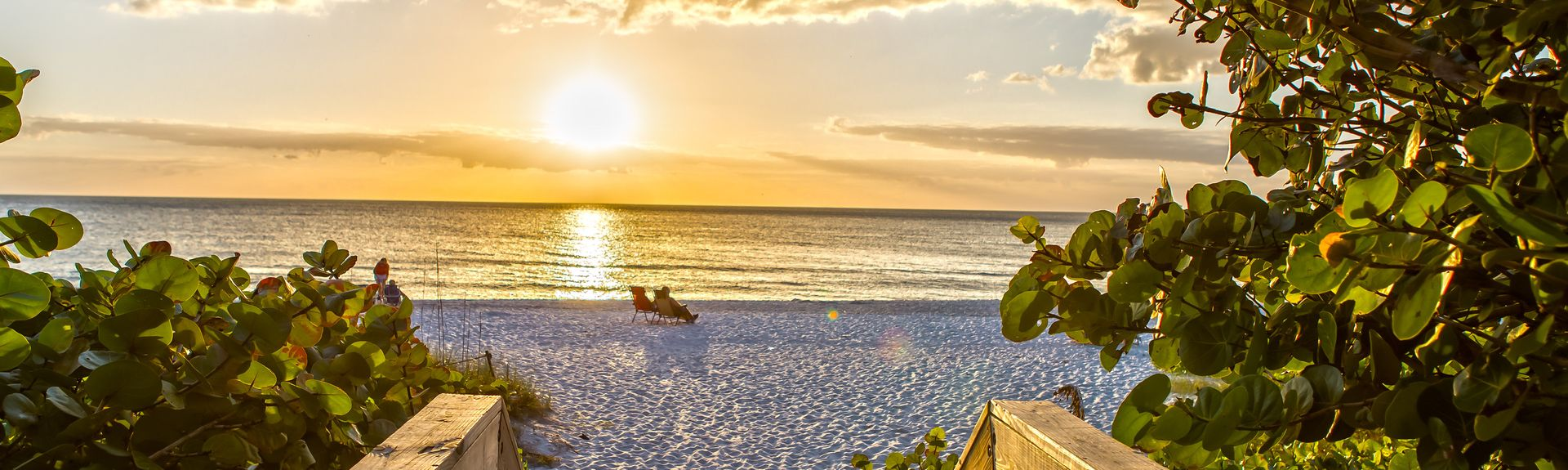Naples Beach, Naples, Florida, USA
