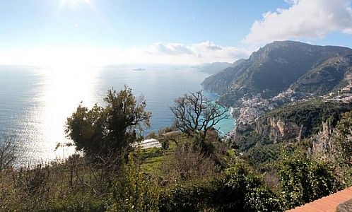 Tramonti, Campanie, Italie