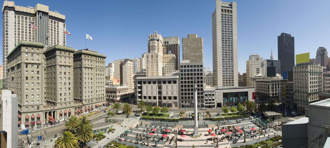 Union Square, San Francisco, Californie, États-Unis