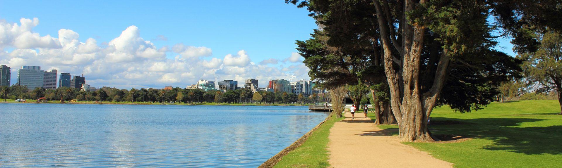 Albert Park, Melbourne, Victoria, Australia
