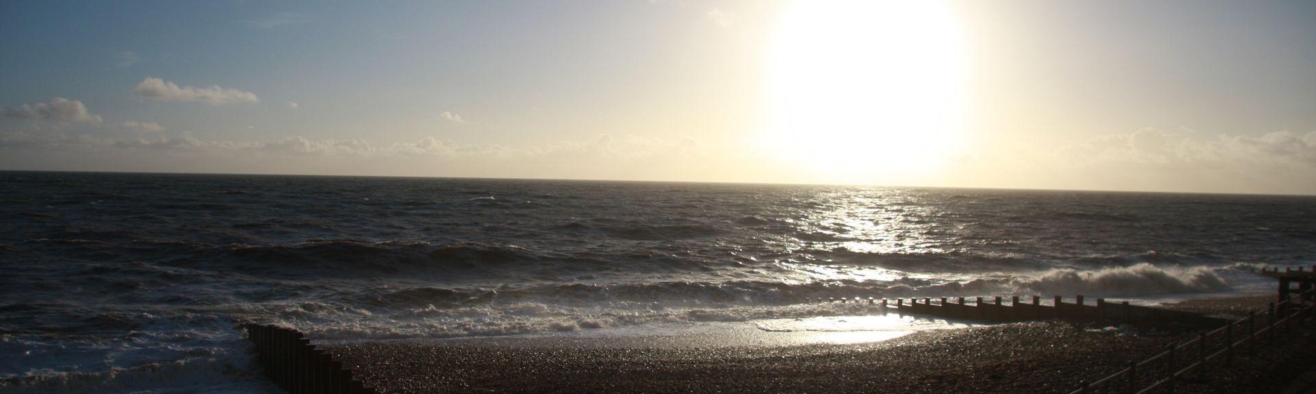 Eastbourne Pier, Eastbourne, Engeland, Verenigd Koninkrijk