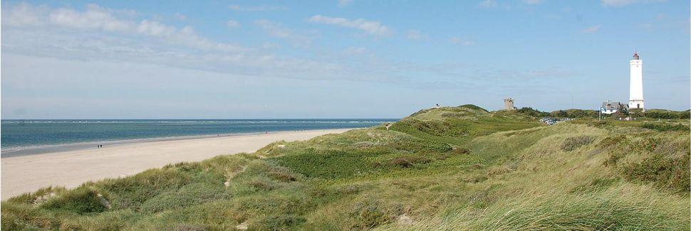 Blåvand strand, Blåvand, Syddanmark, Danmark