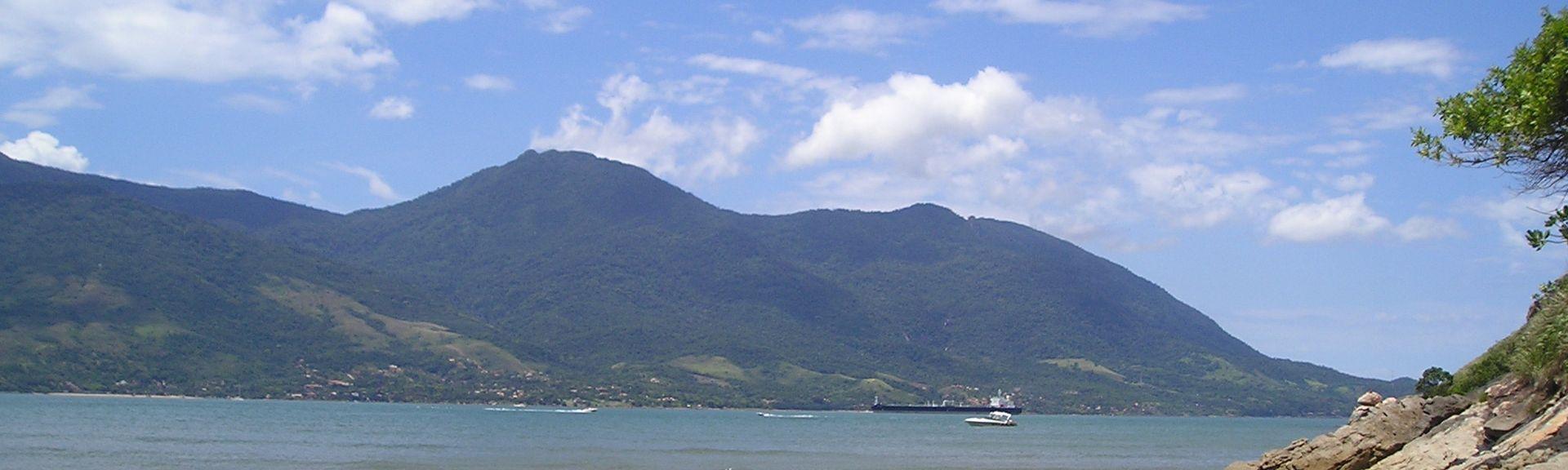 Ponta da Sela, Ilhabela, Région Sud-Est, Brésil