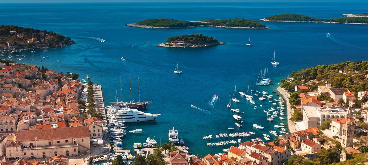 Hvarin saari, Split-Dalmatia, Kroatia