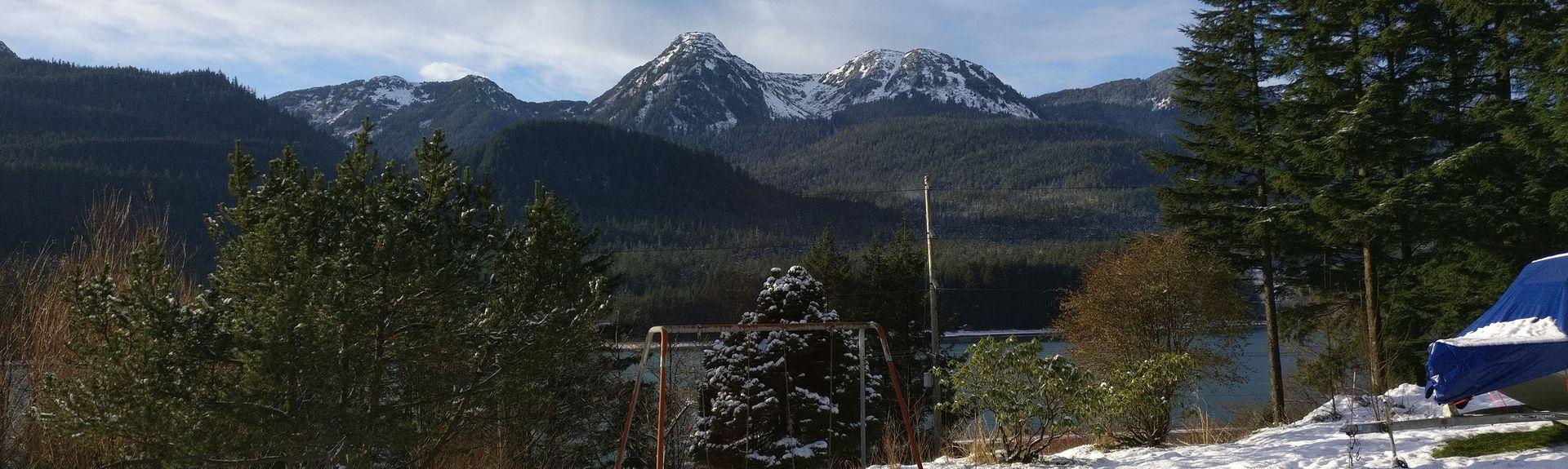 Juneau Downtown, Juneau, Alaska, USA