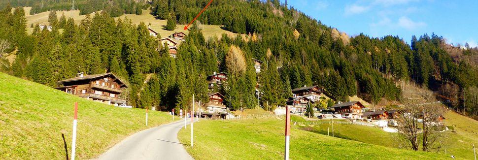 Wunnewil Flamatt Station, Wunnewil-Flamatt, Kanton Fribourg, Schweiz