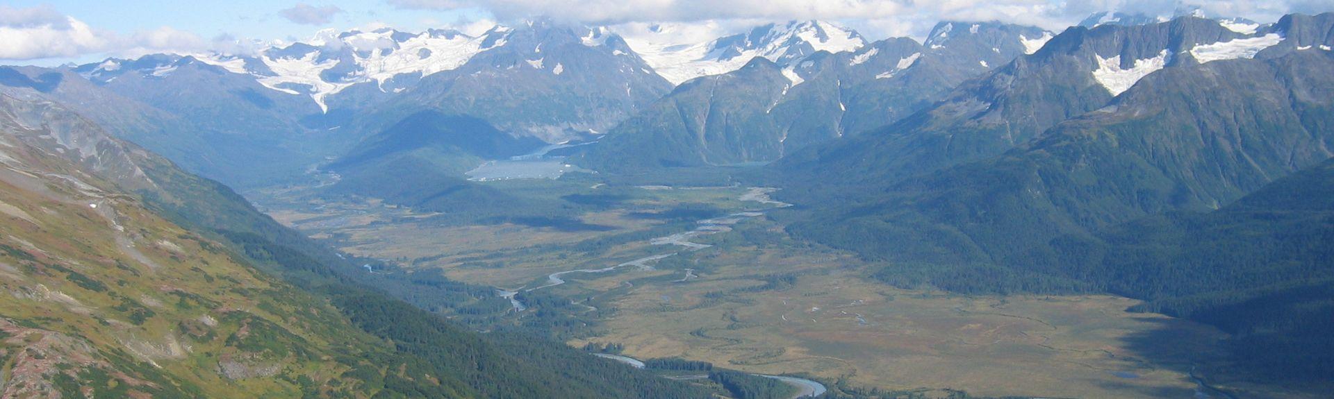 Portage Glacier, Whittier, AK, USA
