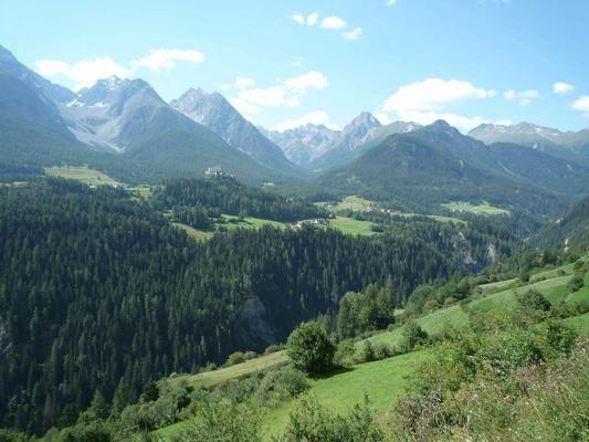 Tarasp, Scuol, Switzerland