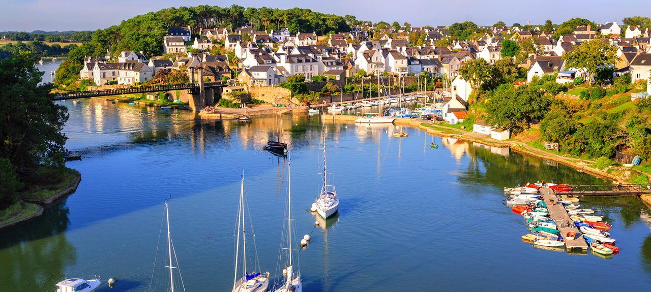 Département Morbihan, Bretagne, Frankreich