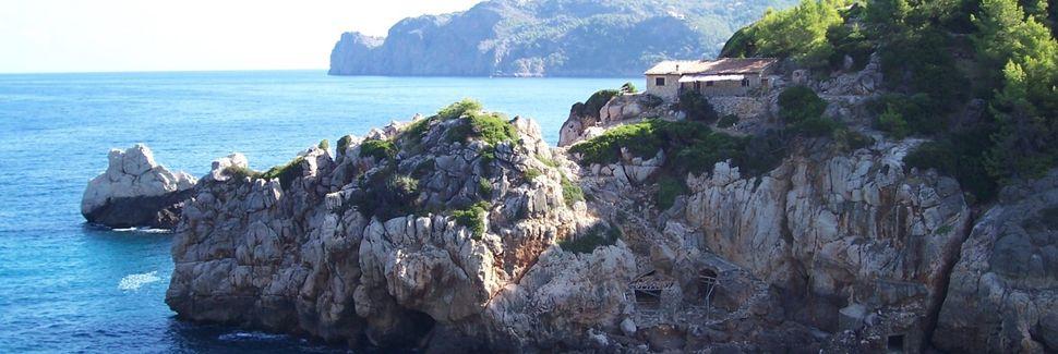 Cala Banyalbufar, les Îles Baléares, Espagne