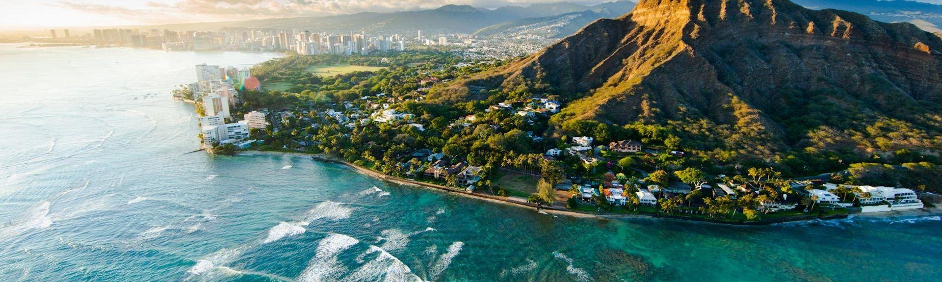 Waikiki Banyan (Honolulu, Hawaï, États-Unis d'Amérique)