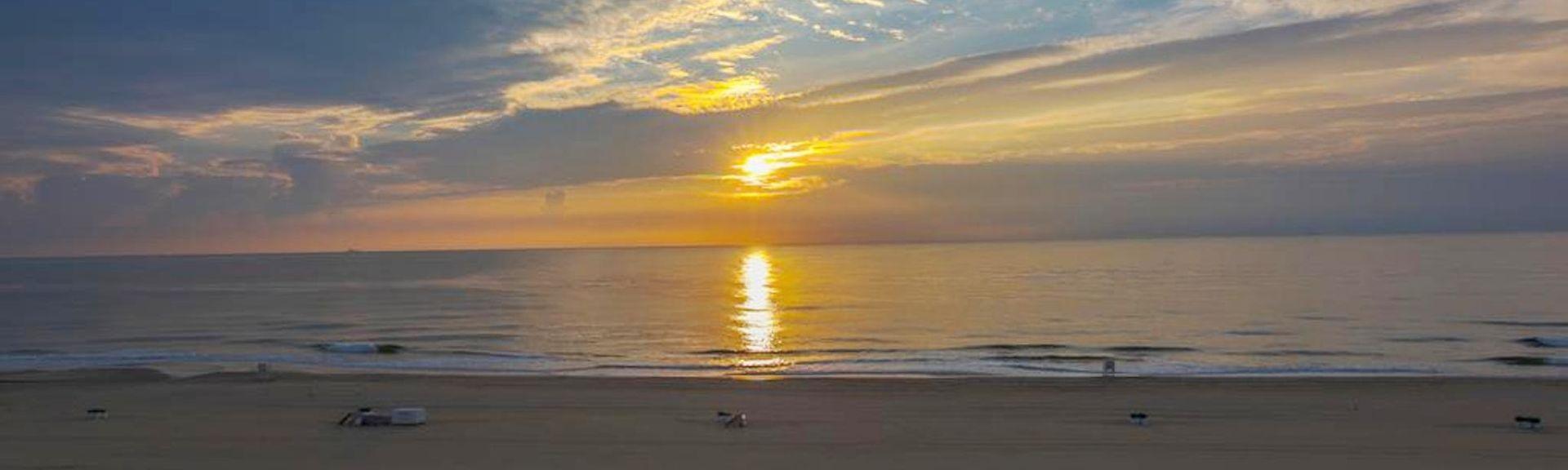 Sandbridge Beach, Virginia Beach, Virginie, États-Unis d'Amérique