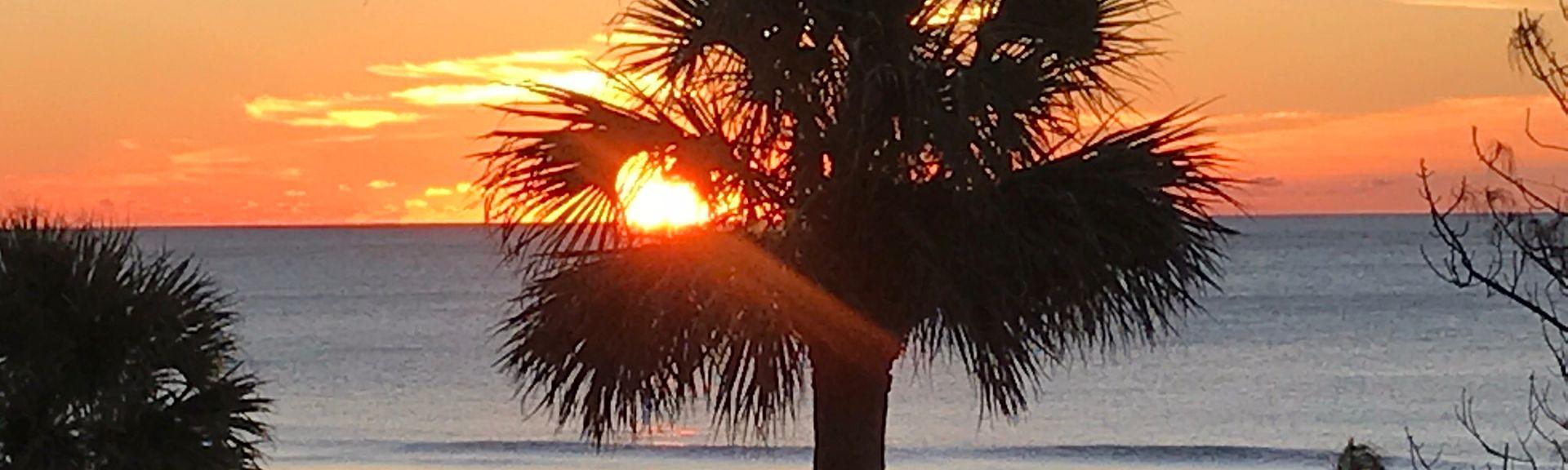 Captain's Walk, Hilton Head Island, Caroline du Sud, États-Unis d'Amérique