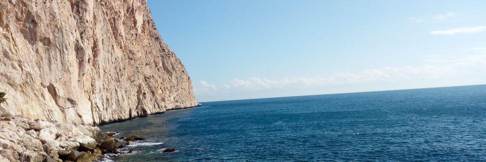 Cap Negret-stranden, Altea, La Valenciana, Spania
