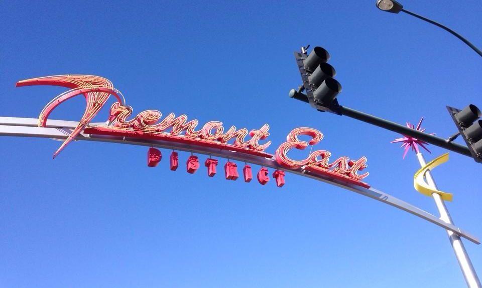 Fremont Street Experience, Las Vegas, Nevada, États-Unis d'Amérique