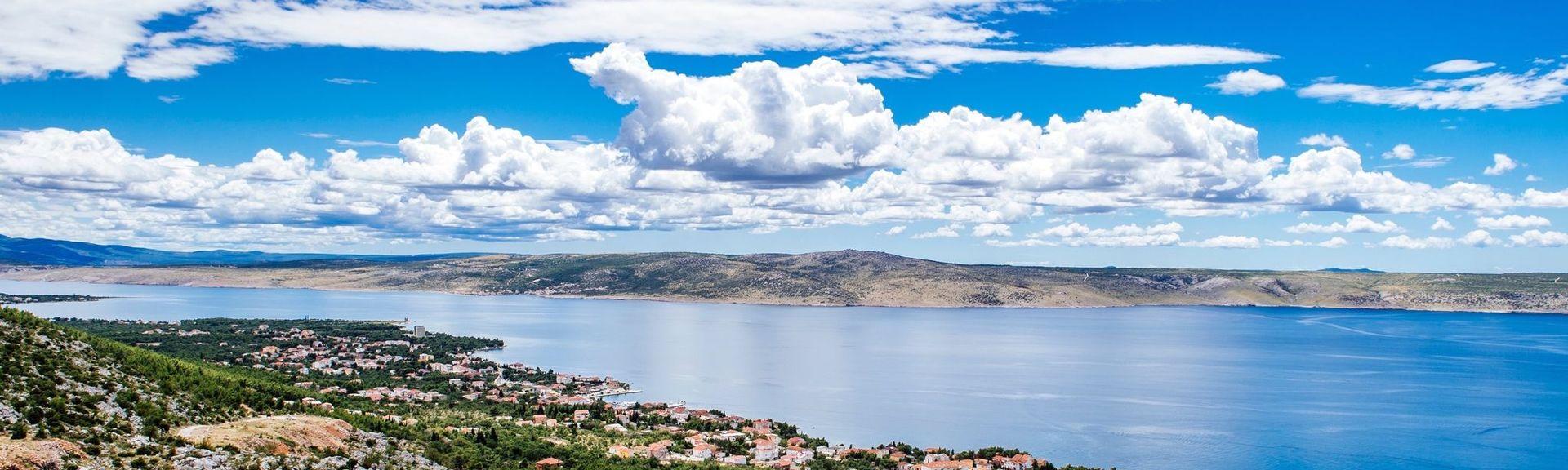 Gemeinde Posedarje, Zadar, Kroatien