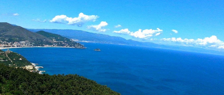 Haven van Capo San Donato, Finale Ligure, Ligurië, Italië