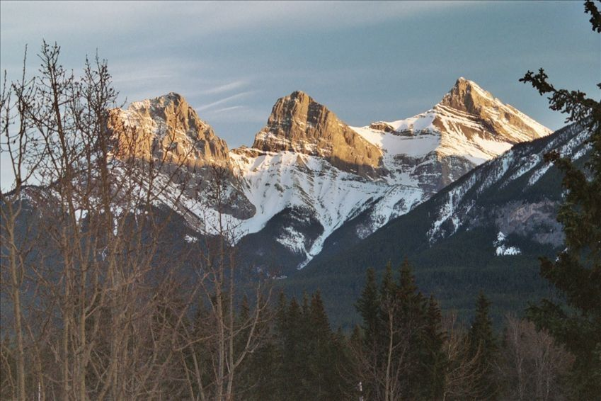 Mount Norquay Ski Resort, Banff, AB, Canada