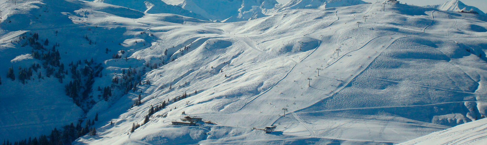 Hochhoerndl Ski Lift, Fieberbrunn, Austria