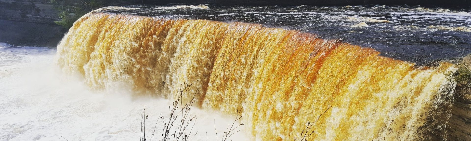 Tahquamenon Falls State Park, Paradise, Newberry, Michigan, United States of America