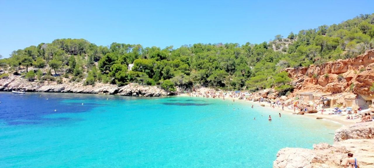 Cala Tarida, Sant Josep de sa Talaia, Balearic Islands, Spain