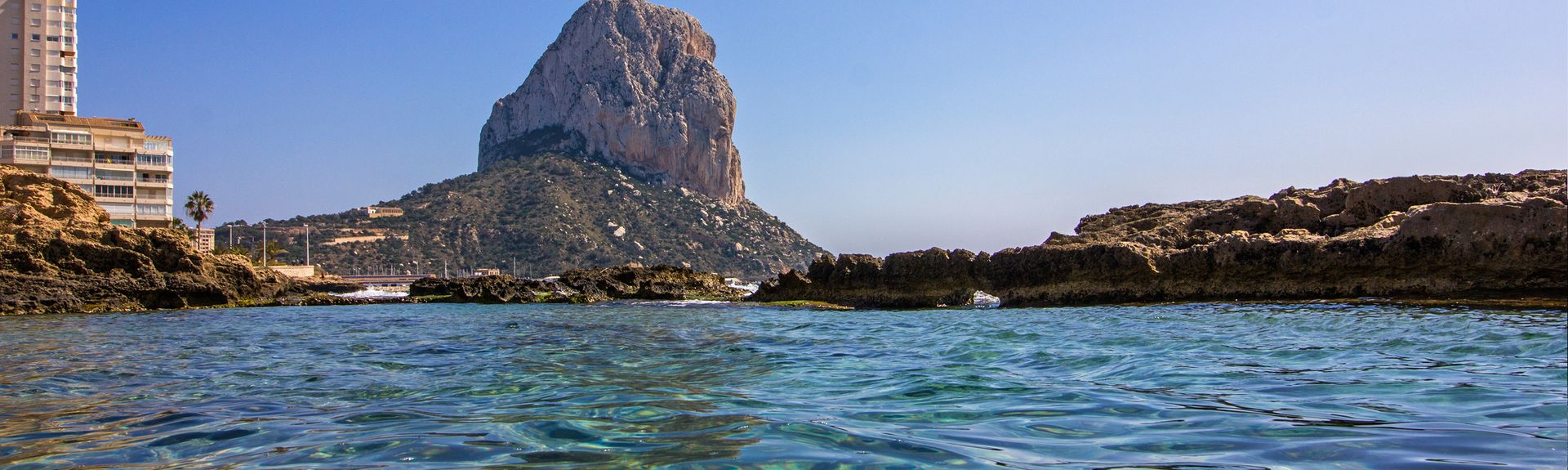 Ifach Rock, Calpe, Spain