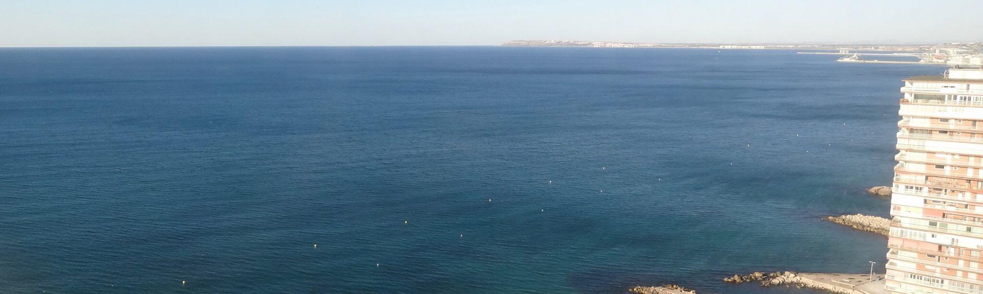 Cabo de las Huertas, Alicante, Communauté valencienne, Espagne