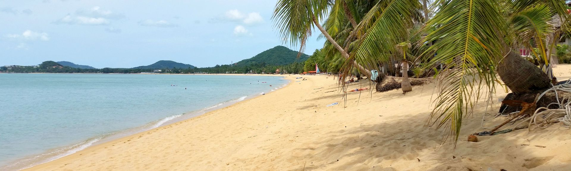 Mae Nam Beach, Surat Thani, Thaimaa