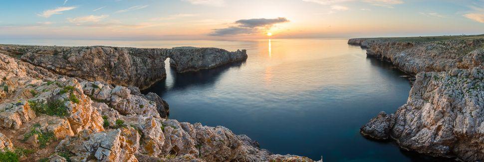 Cala Blanca, Ciutadella de Menorca, Ilhas Baleares, Espanha