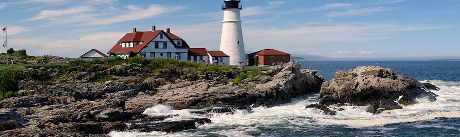 Sørkysten, Maine, USA