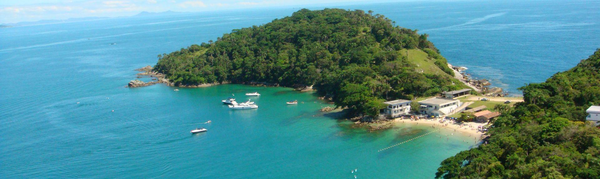 Quatro Ilhas, Bombinhas, Santa Catarina (staat), Brazilië