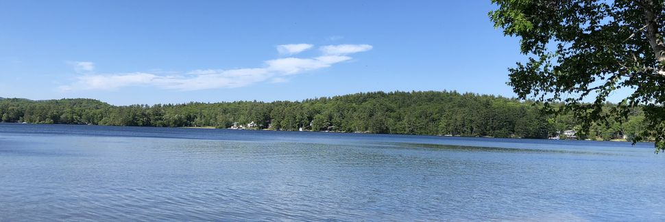 Webster Lake, Franklin, New Hampshire, Estados Unidos