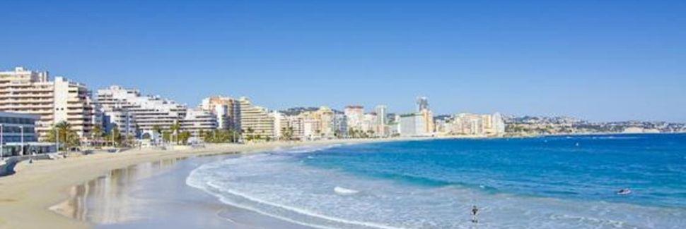 La Roda-stranden, Altea, La Valenciana, Spania