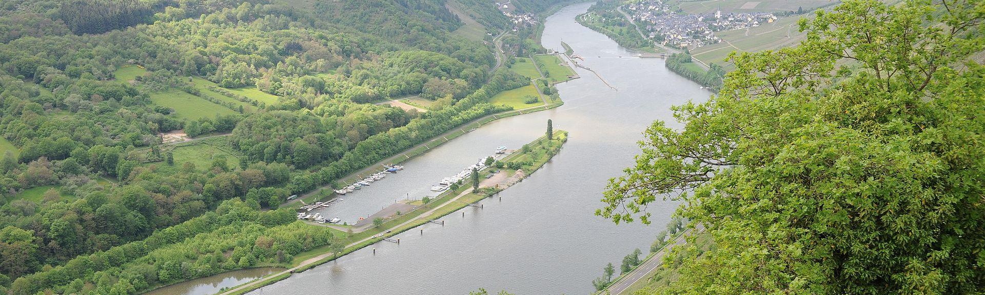 Reichsburg Cochem, Cochem, Rheinland-Palatinate, Saksa