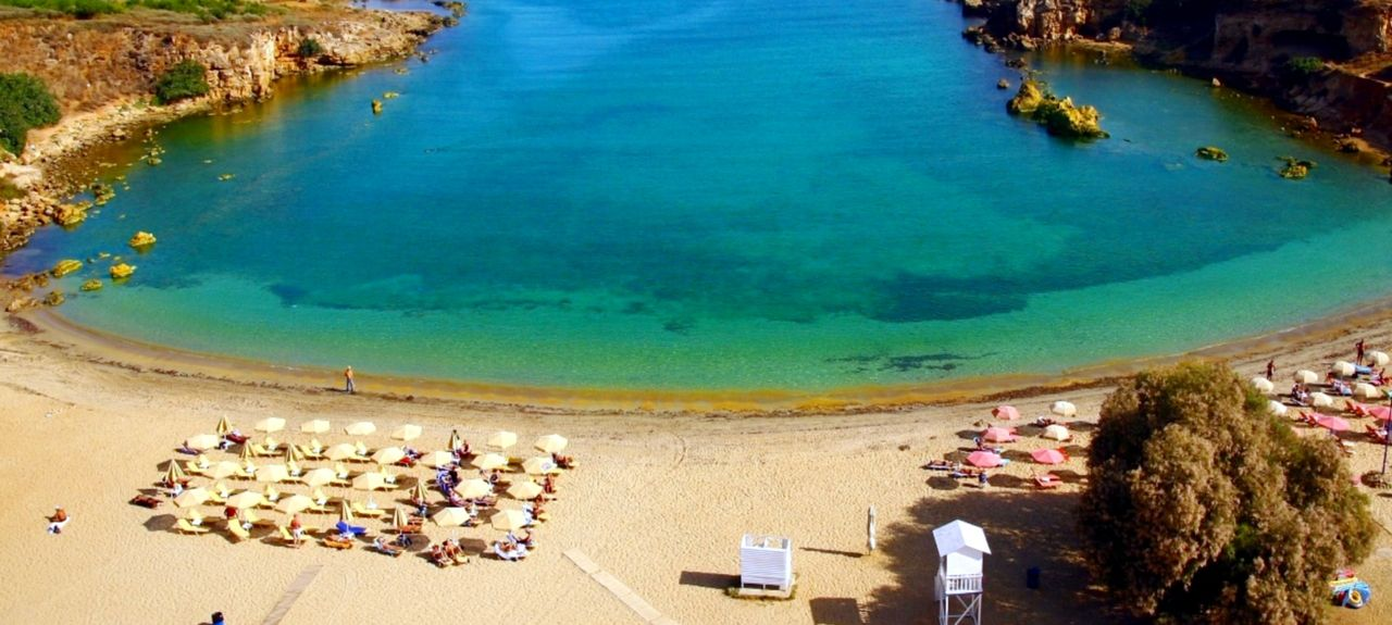 Agia Marina Beach, Chania, Greece