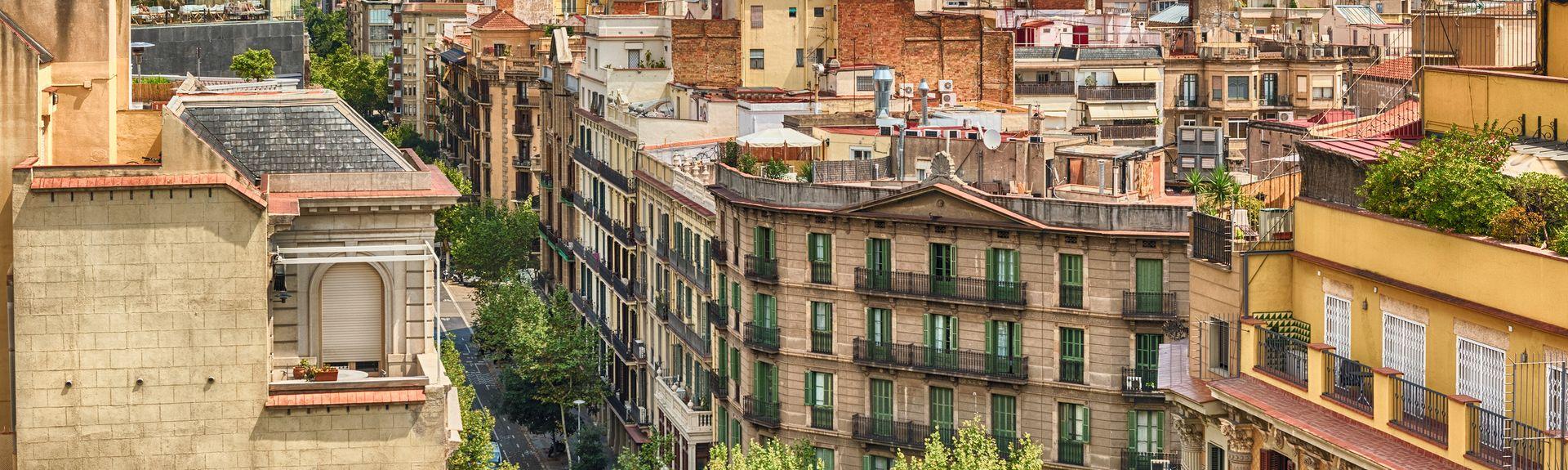 Dreta de l'Eixample, Barcelona, Katalonia, Hiszpania