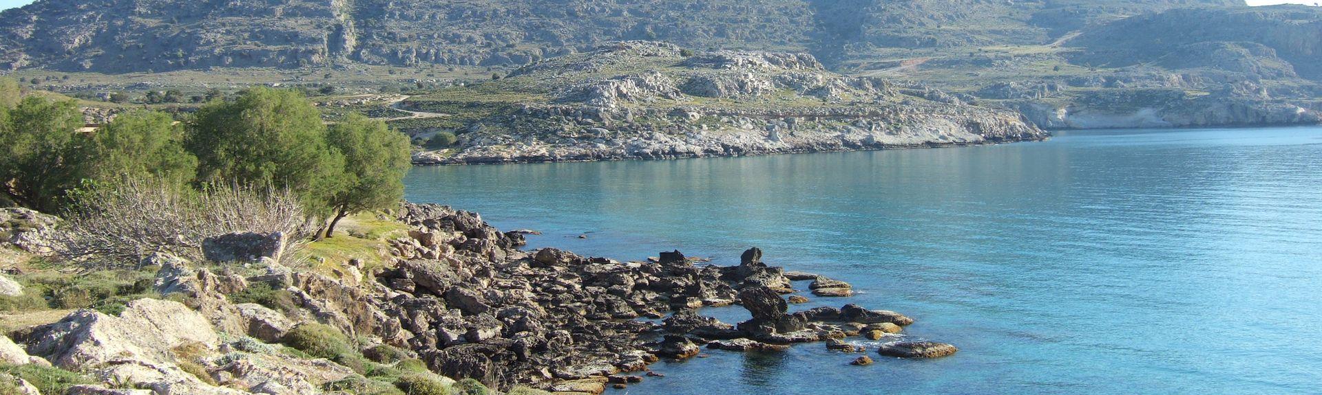 Kiotari, Rhodes, South Aegean, Greece
