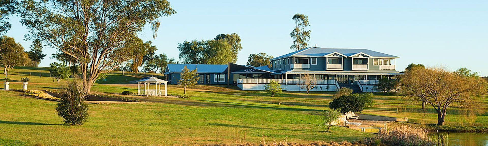 Brokenwood wijndomein, Pokolbin, New South Wales, Australië