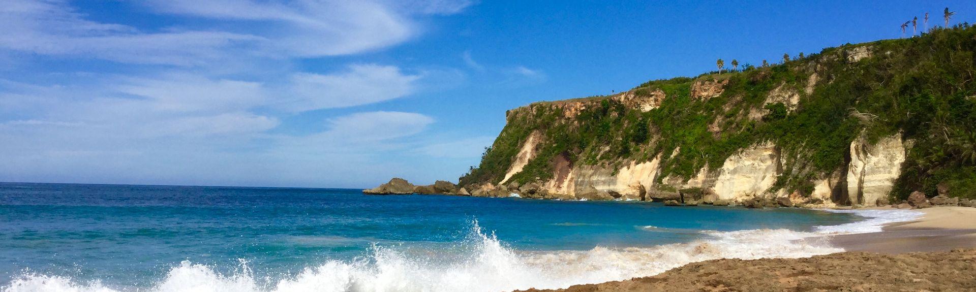 Domes Beach, Rincon, Puerto Rico