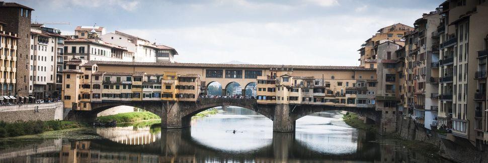 Ponte Vecchio, Florencia, Toscana, Italia