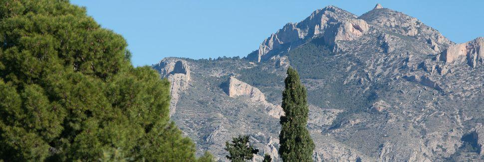 Tibi, Land Valencia, Spanien