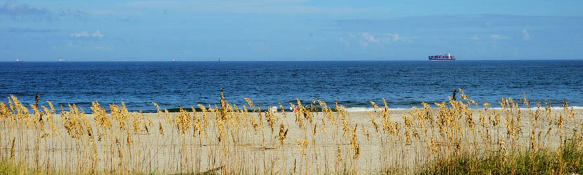 Beachside Colony, Tybee Island, GA, USA