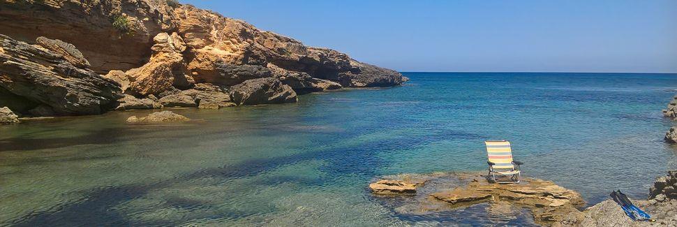 Cala Murada, Manacor, Balearische Inseln, Spanien