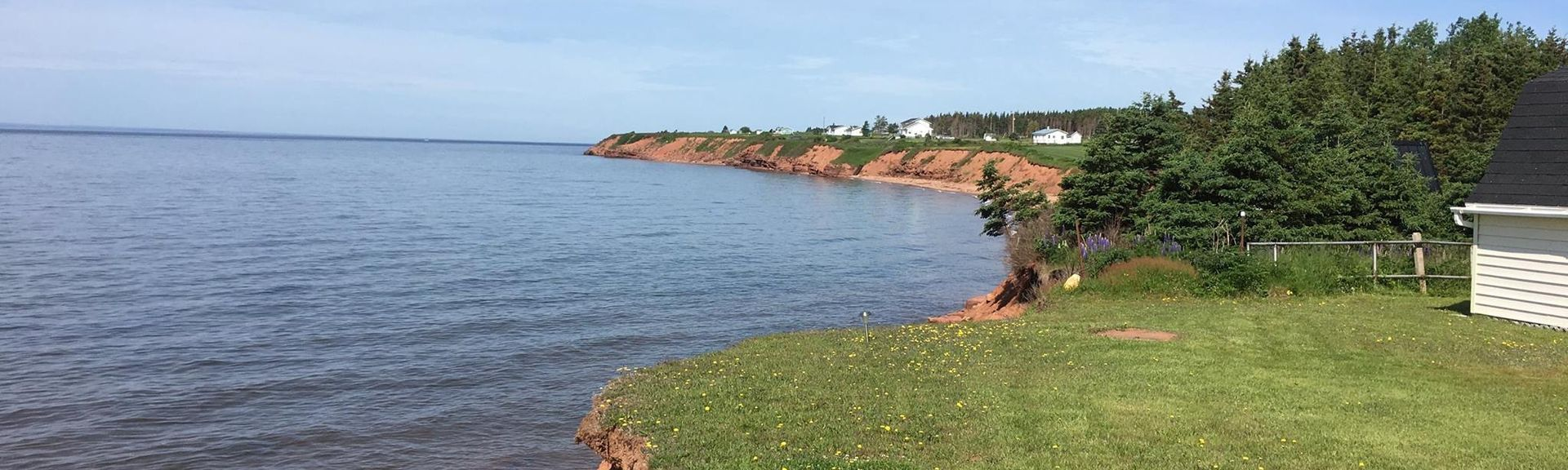 Caribou Lighthouse, Pictou, Nova Scotia, Canada