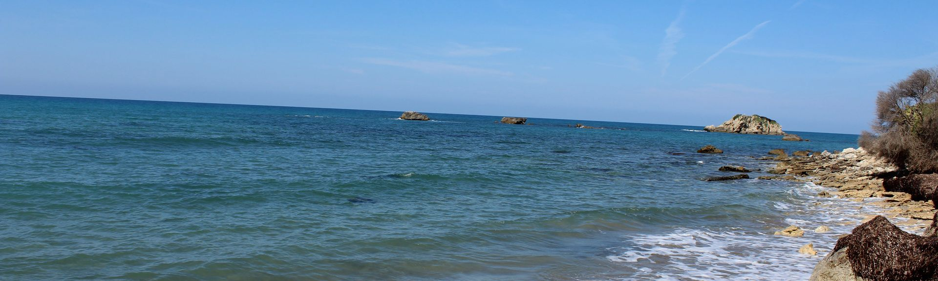 Praia de Issos, Peloponeso, Grécia